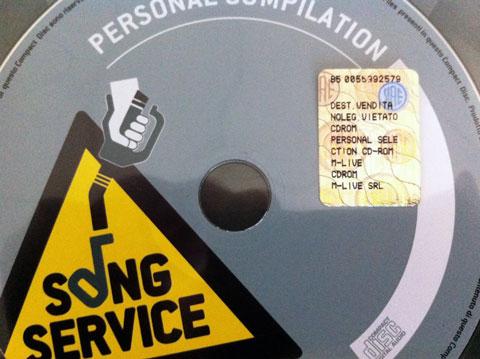 CD con bollino SIAE