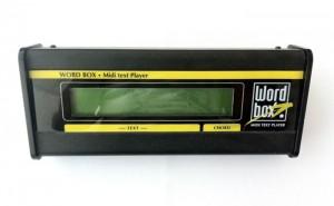 Word Box di M-Live: finalmente il testo Karaoke per i file MIDI.
